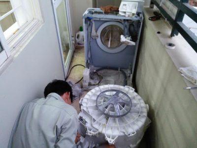 sửa máy giặt tại Lạc Long Quân